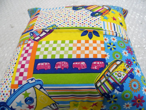 "16"" Cushion Covers x 2 (Multi-colour)"