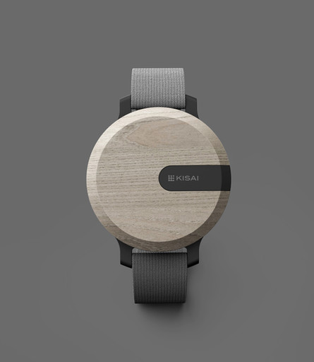 Kisai minimal watch rounded