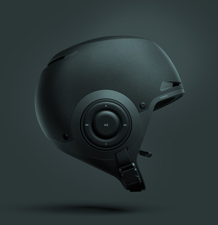 Audio helmet for water sports