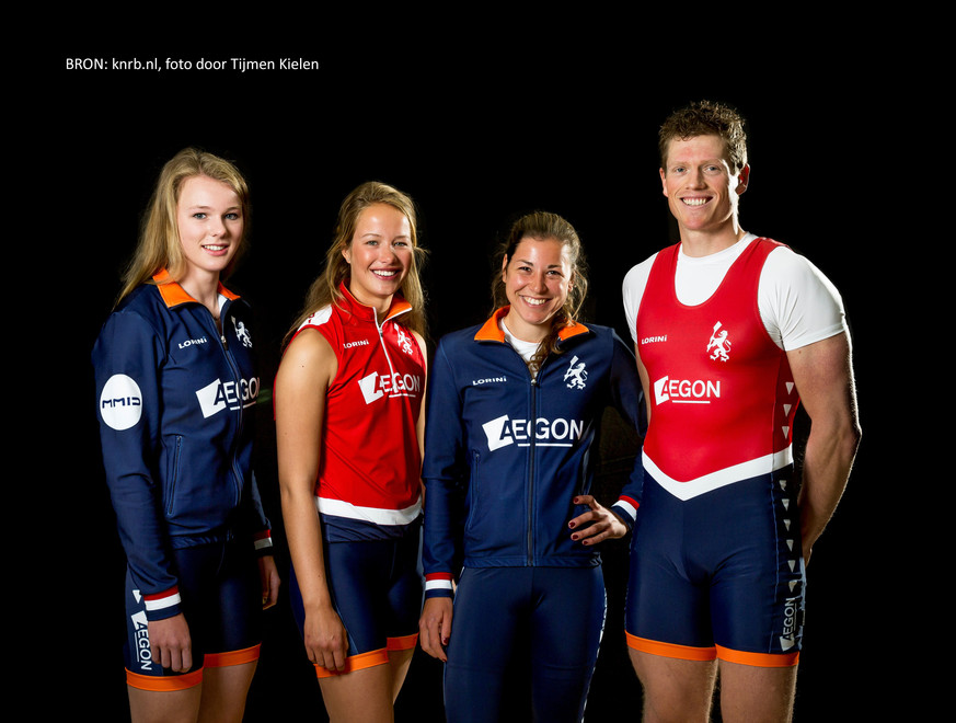 Clothing line Dutch rowing team