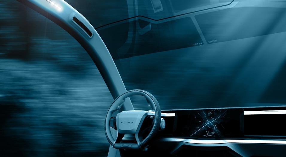 Mediterana - Conceptual car interior design