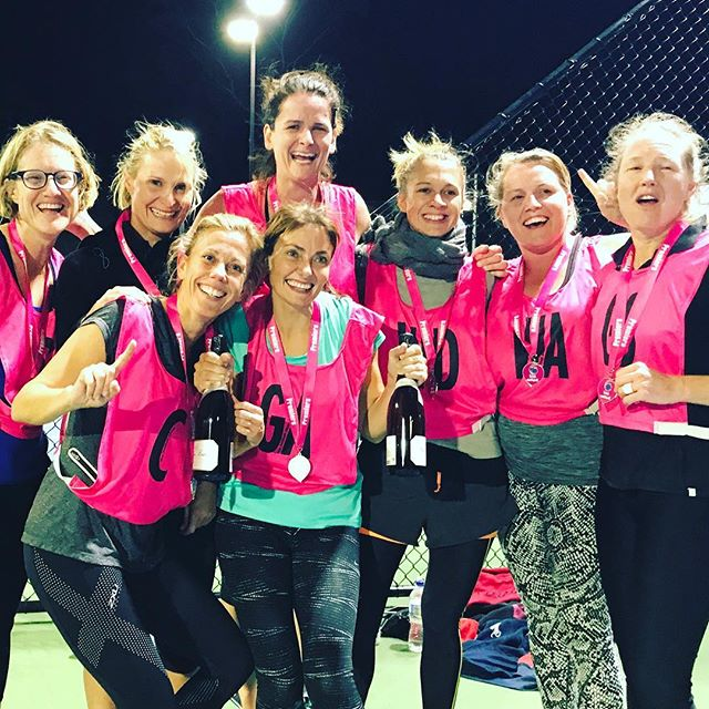 Our netball girls are champions 🙋🏻✊🏻🏆 #tuesdaynight #netball #lovenetball #netballgirls #netball