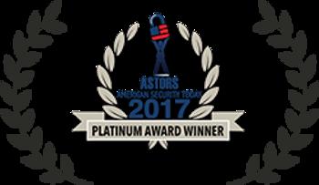 Platinum Award Winner in the Best Cyber Critical Infrastructure Solution