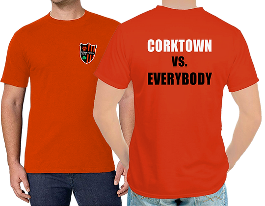 Orange Corktown vs Everybody Unisex T-shirt