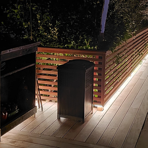 Outdoor weatherproof LED lighting