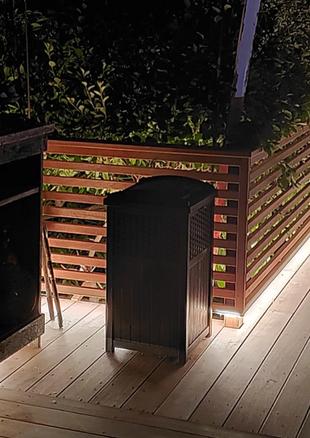 Outdoor Deck Lighting Presented by Global Glow Lighting Design