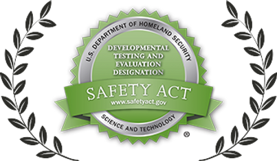 U.S. Department of Homeland Security's SAFETY Act Approval