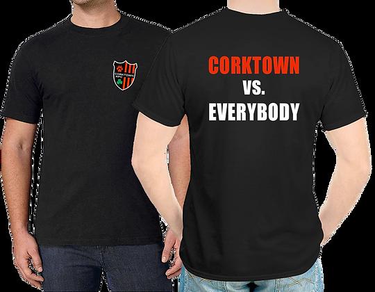 Black Corktown vs Everybody Unisex T-shirt