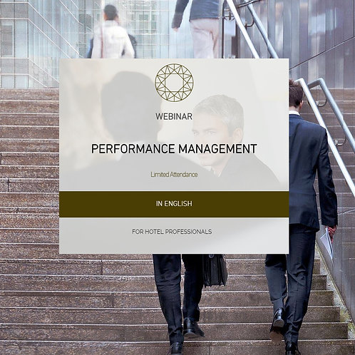 Performance Management in the Hotel Industry