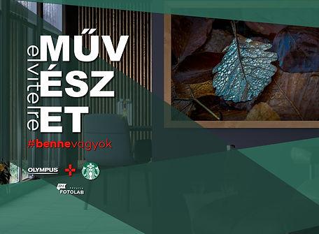 Művészet Elvitelre - Starbucks x Olympus x HPIX borítókép #bennevagyok.jpg