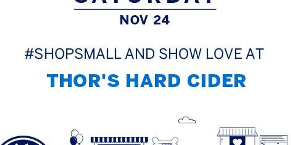 Small Biz Saturday Sale, Music & More