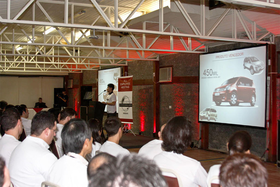 Convenção de Funcionários Nissan