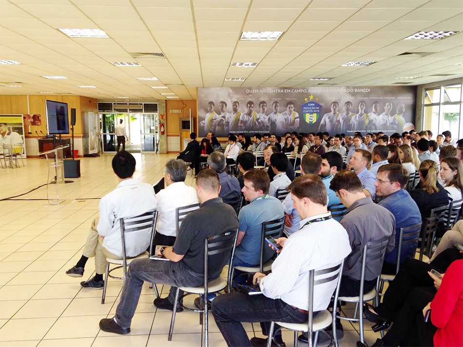 All Employee Meeting Nissan