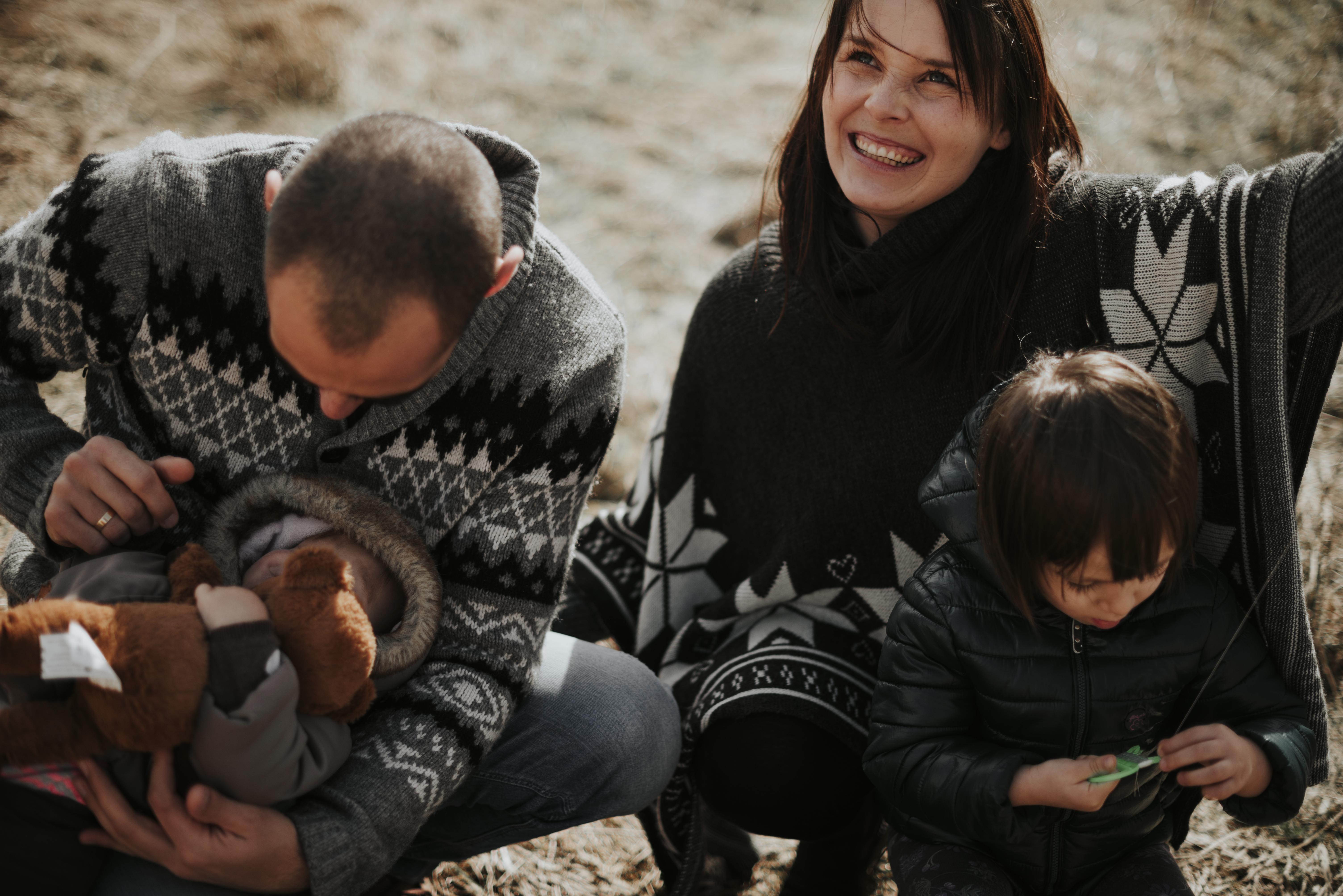 Sesja rodzinna w Bieszczadach