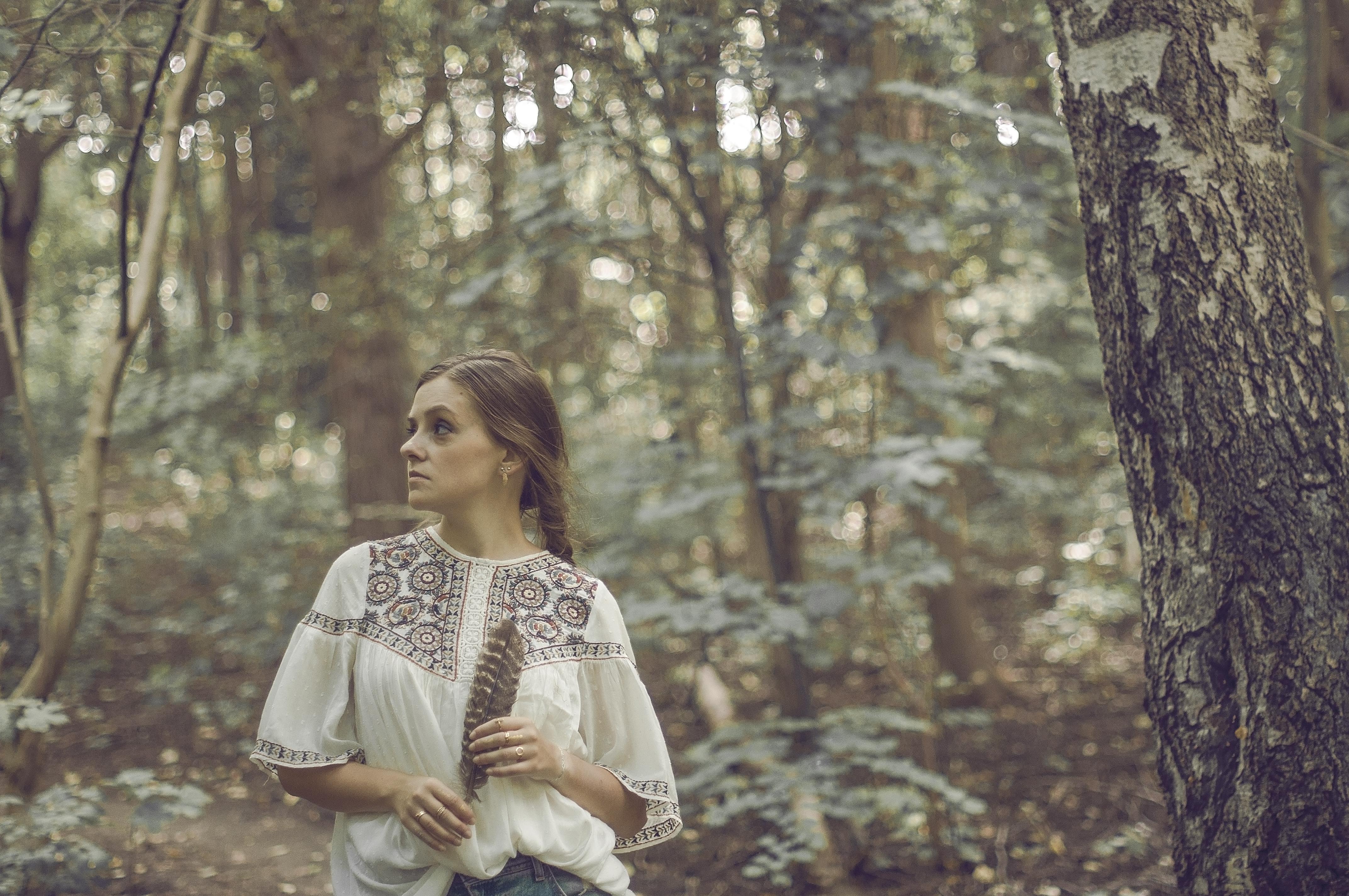 Sesja indywidualna w lesie