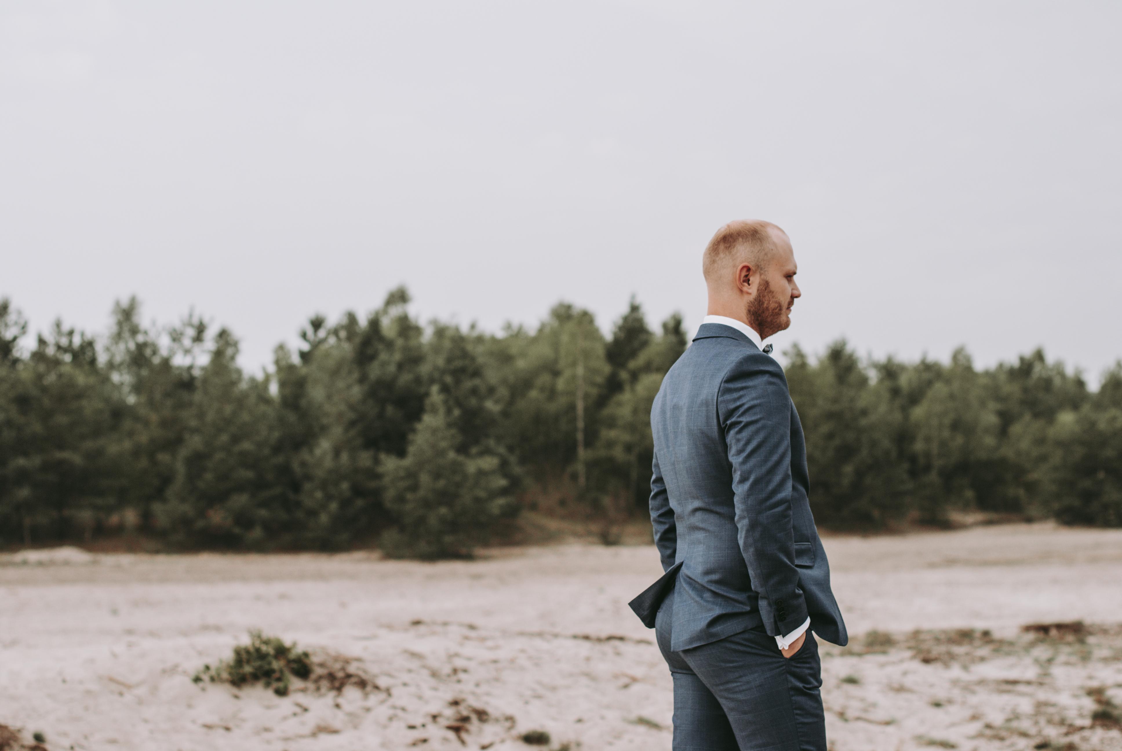 Sesja poślubna na pustyni