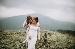 Sesja poślubna w Bieszczadach