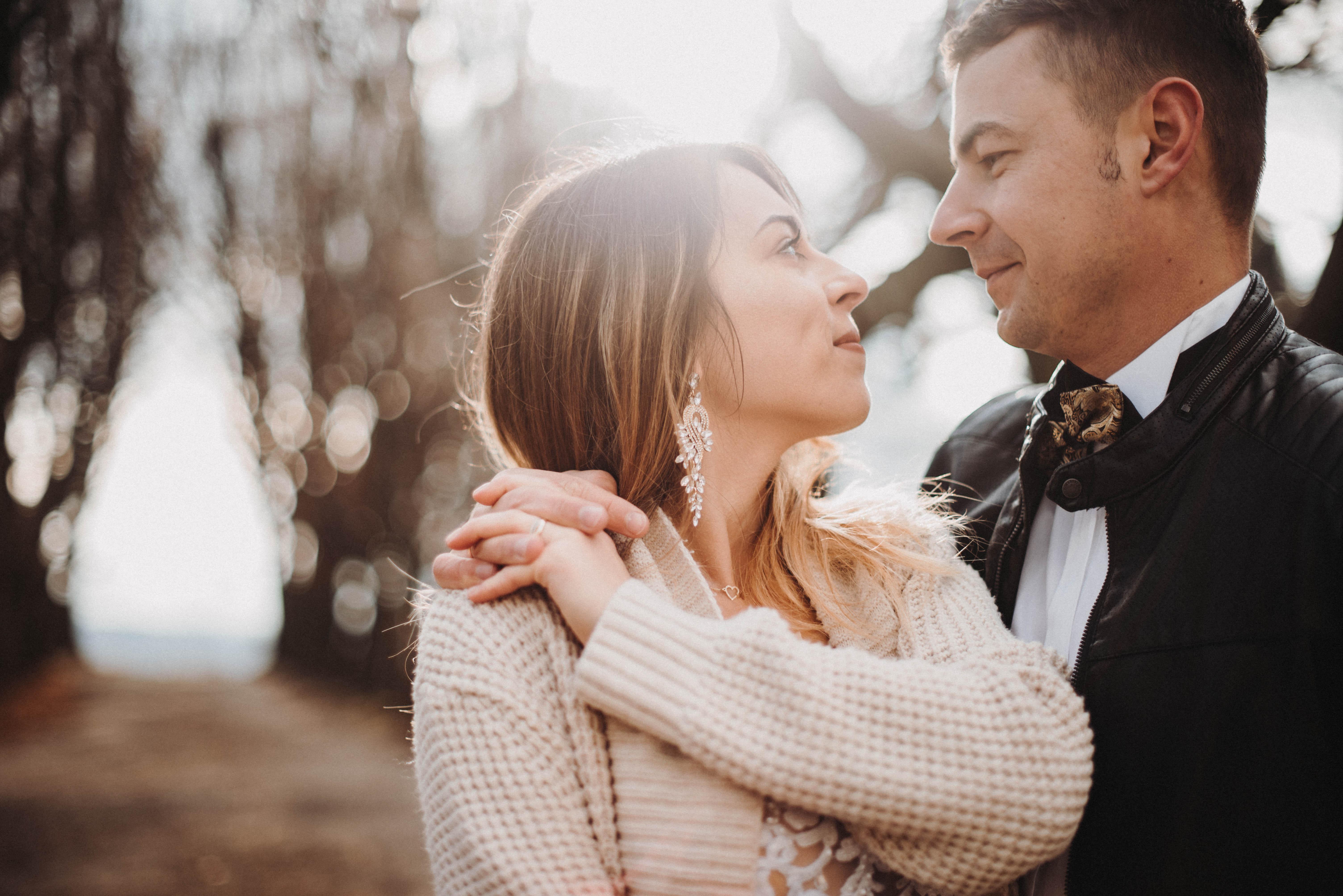 Sesja poślubna w Mogilanach