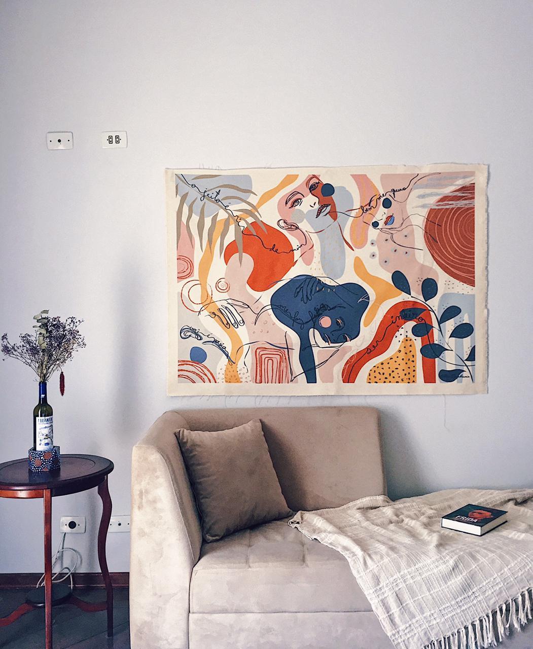 Artista Plástica e Muralista Cláu Epipha