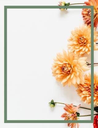Flores Amarelas - Toalhas Americana