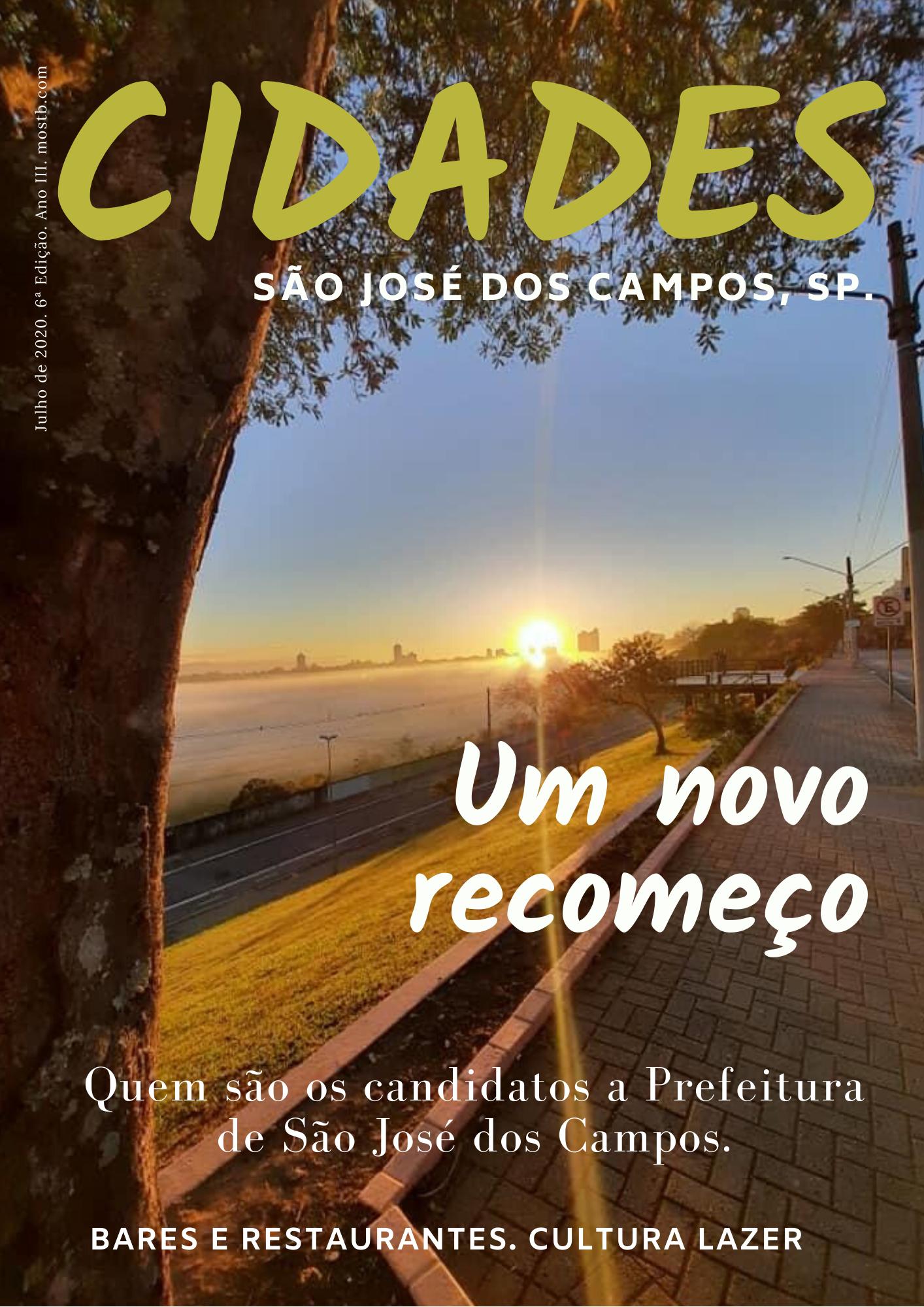 CAPA_REVISTA_CIDADES_SJC_6ª_EDIÇÃO