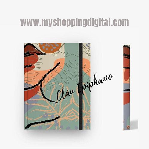 Caderno sem pauta. Coleção 'Cores de Outono'