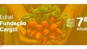 Edital Fundação Cargill – 7ª Edição