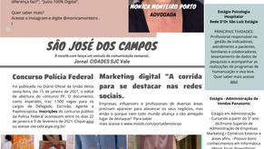 JORNAL CIDADES SJC VALE 1ª Edição.