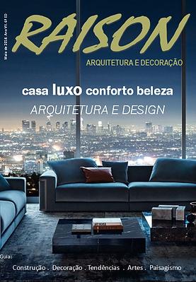 Revista RAISON arquitetura e decoração