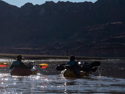 Bike Pack rafting the Colorado