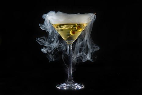 smoking martini