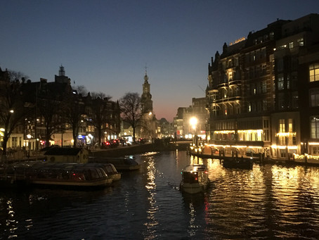 Amsterdam - Canals by Night