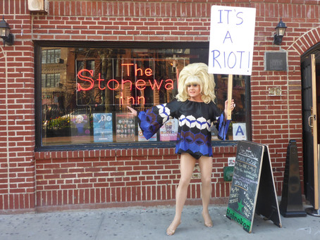Lady Bunny at The Stonewall Inn- 'TRANS-JESTER' EXTENDED Through November 5, 2016