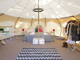 BOUTIQUE CAMPING & GLAMPING WITH PORTOBELLO TENTS
