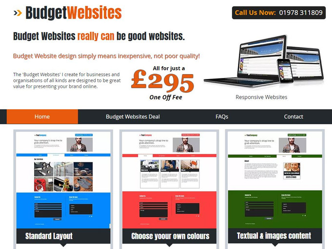 Budget Websites (Part of Tidy Websites Group)