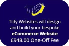 Purchase an eCOMMERCE WEBSITE using 'EASY PAY'.