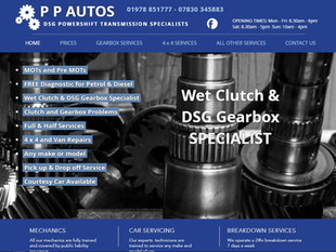 PP Autos Automatic Gearbox Specialists
