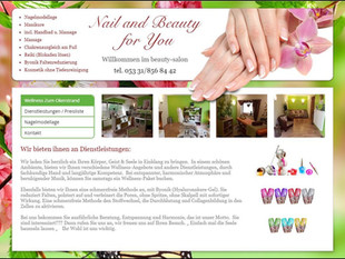 Nail and Beauty for You (German Website)
