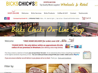 Bicks Chicks On-Line Shop