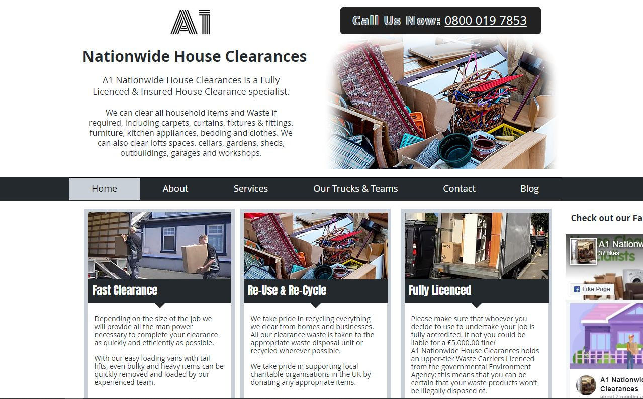 A1 Nationwide House Clearances (A Budget Website)