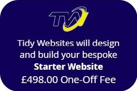 Purchase a STARTER WEBSITE using 'EASY PAY'.