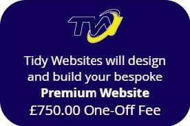 Purchase a PREMIUM WEBSITE using 'EASY PAY'.