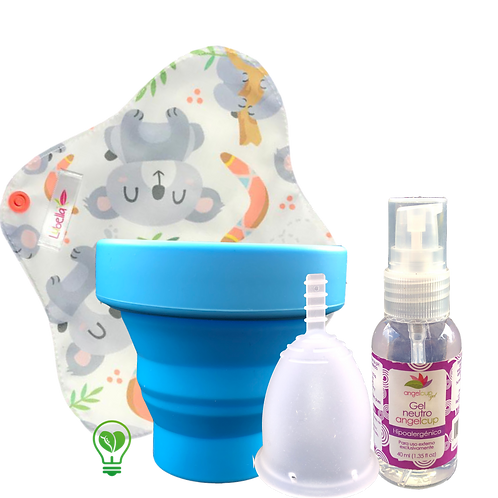 Pack Fleurcup + Pantiprotector con causa