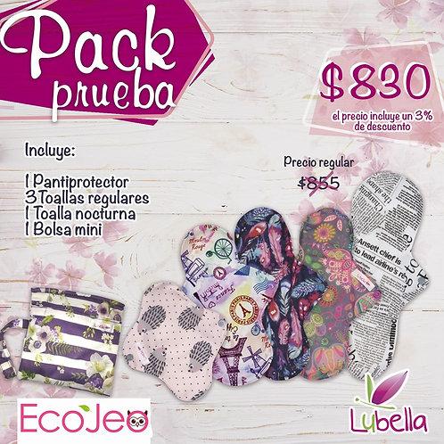 Pack toallas Prueba