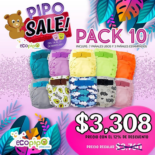 10 pack Pipo Sale
