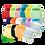 Thumbnail: Pack 15 pañales Ecopipo Lisos