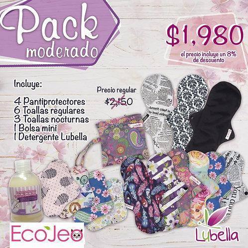 Pack Toallas Moderado