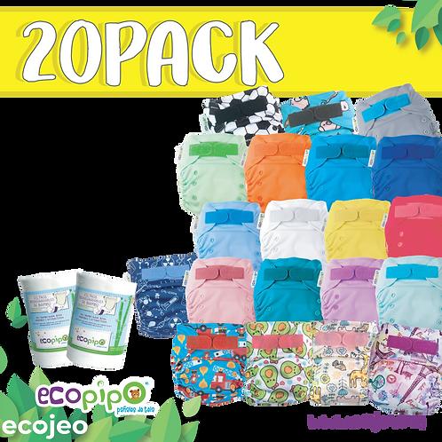 Pack 20 pañales