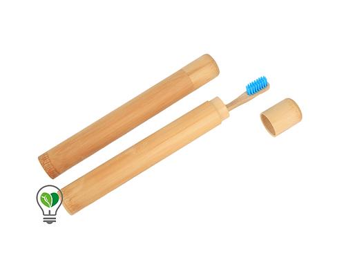 Porta Cepillo Bambú