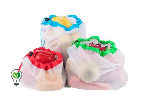 Bolsas Ecologicas Reutilizables pack 12 piezas